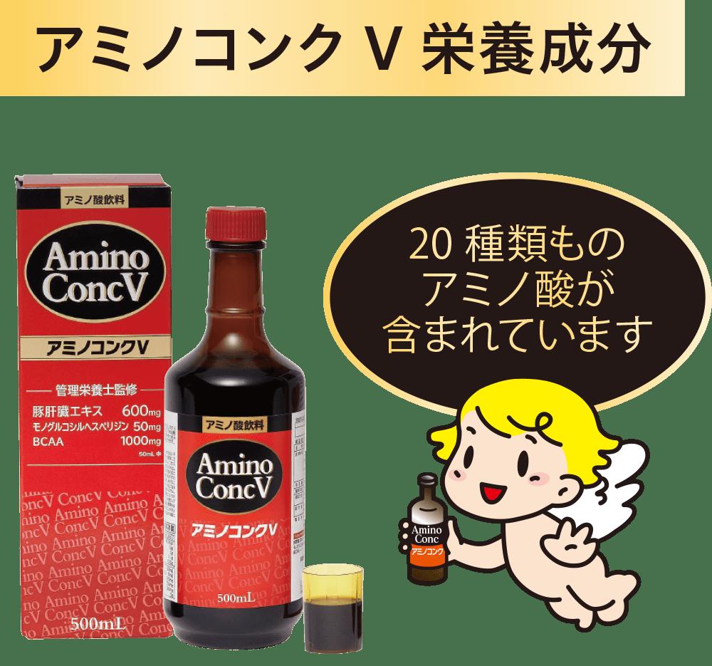 アミノコンクV栄養成分
